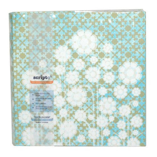 200 Pocket Album Moroccan Flower