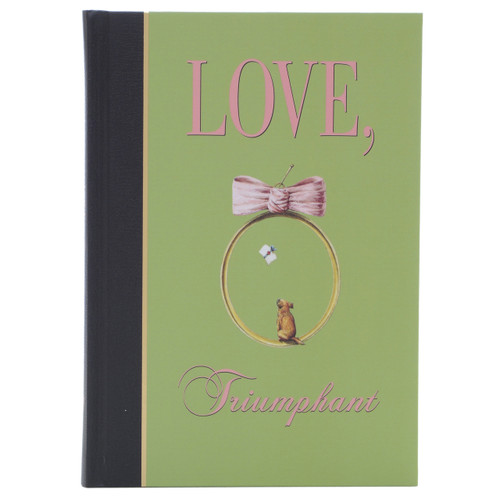 Architectural Watercolors Love Triumphant A5 Hardbound Journal