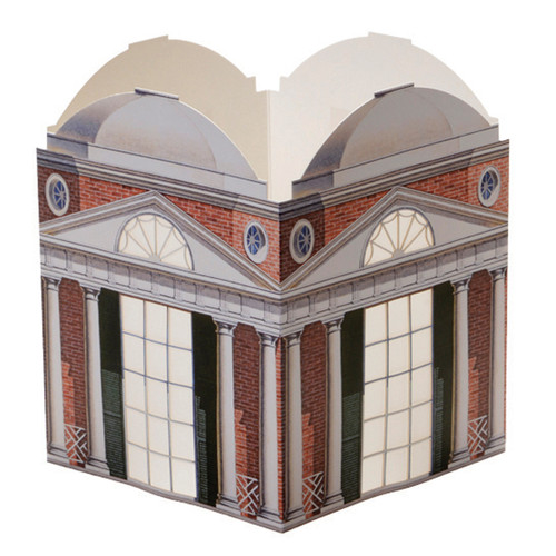 Architectural Watercolors Paper Lantern #2 Mr. Jefferson's Folly