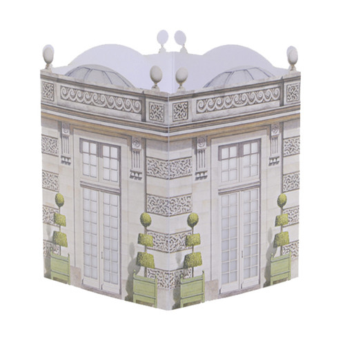 Architectural Watercolors Paper Lantern Le Pavillon