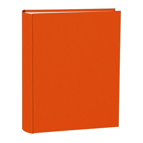 Large Orange Photo Album