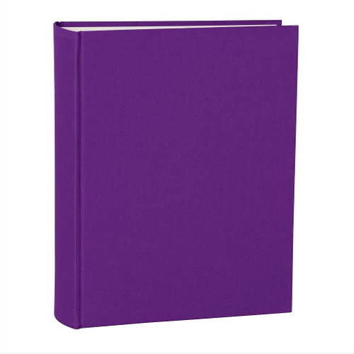 Large Plum Photo Album