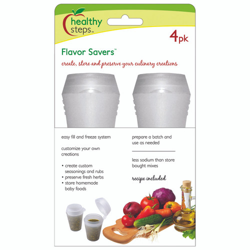 Healthy Steps Flavour Savers 4PK