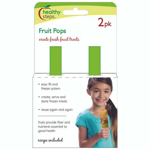 Healthy Steps Fruit Pops 2PK
