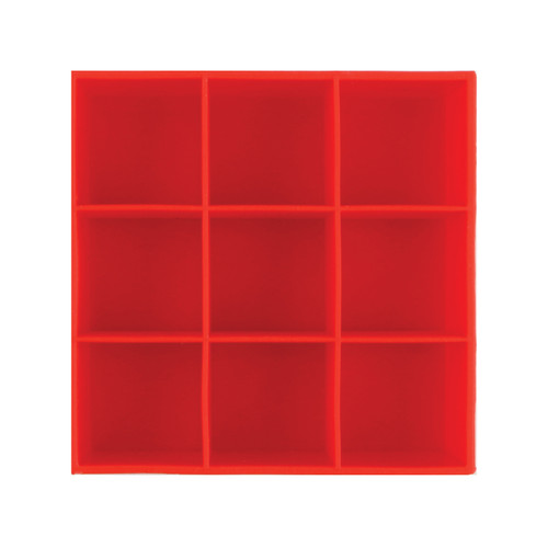 Ice Cube Tray Red