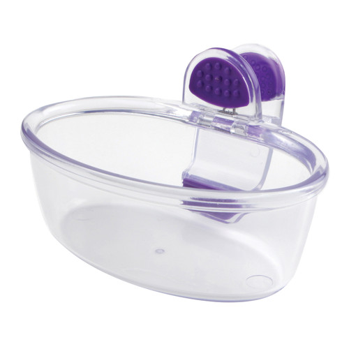 Klip Cup Clear Purple Cup (Small)