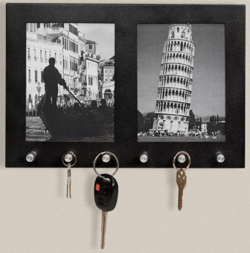 Wall Mount Picture Frame Key Holder [6]