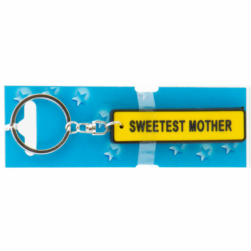 Keyring Licence Plate - Sweetest Mother