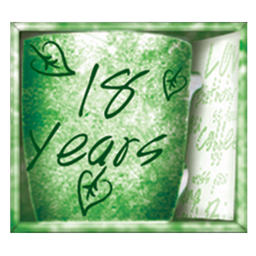 Inside Out Mug - 18 Years