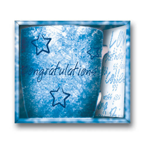 Inside Out Mug - Congratulations Blue