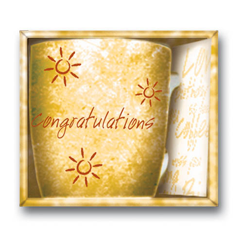 Inside Out Mug - Congratulations Yellow