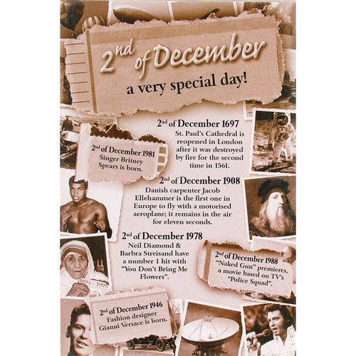 Chronicle Card - December 02