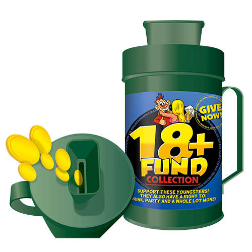 Collection Box - 18+ Fund