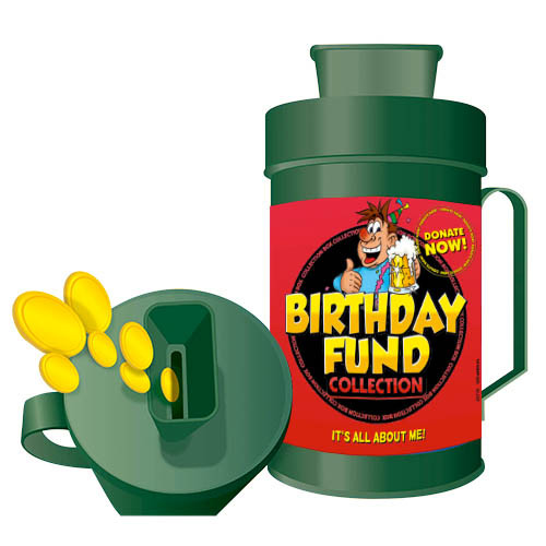 Collection Box - Birthday Fund