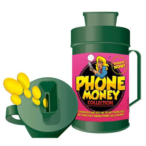Collection Box - Phone Money