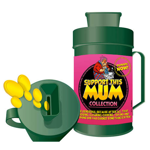Collection Box - Support This Mum