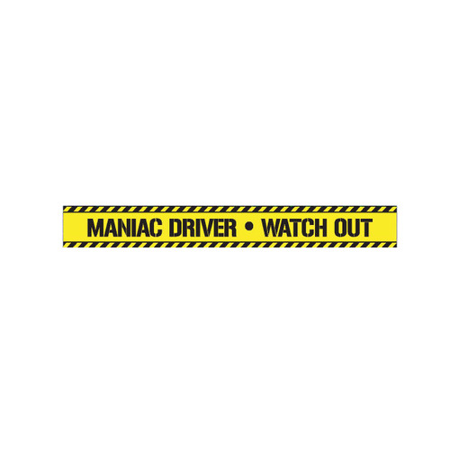 Tape - Maniac Driver Watch Out