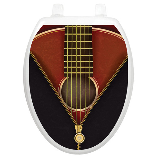 Toilet Tattoos Classic Guitar - Oval