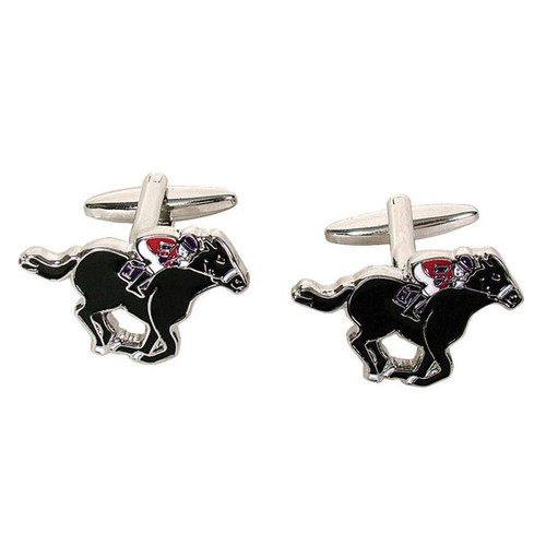 Black Horse & Jockey Cufflinks