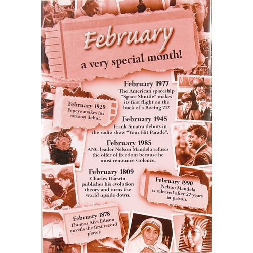 Chronicle Card - February Month