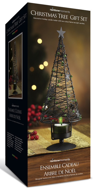Holiday Tree Candle Holder