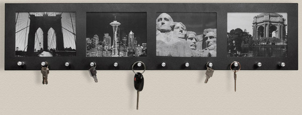 Wall Mount Picture Frame Key Holder [12]