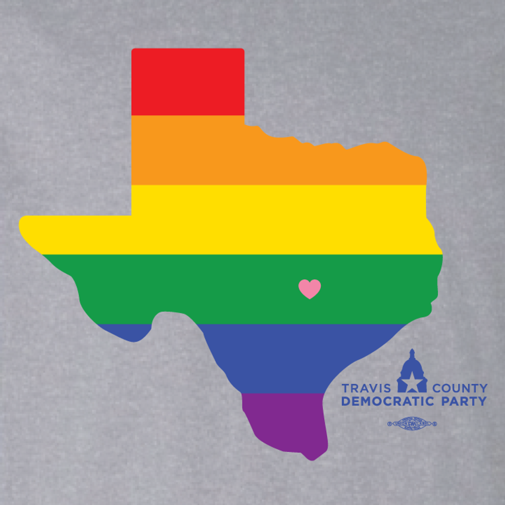 Texas Heart (Athletic Heather Tee)