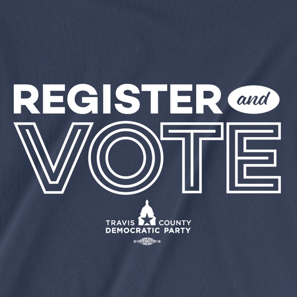 Register And Vote (Navy Tee)