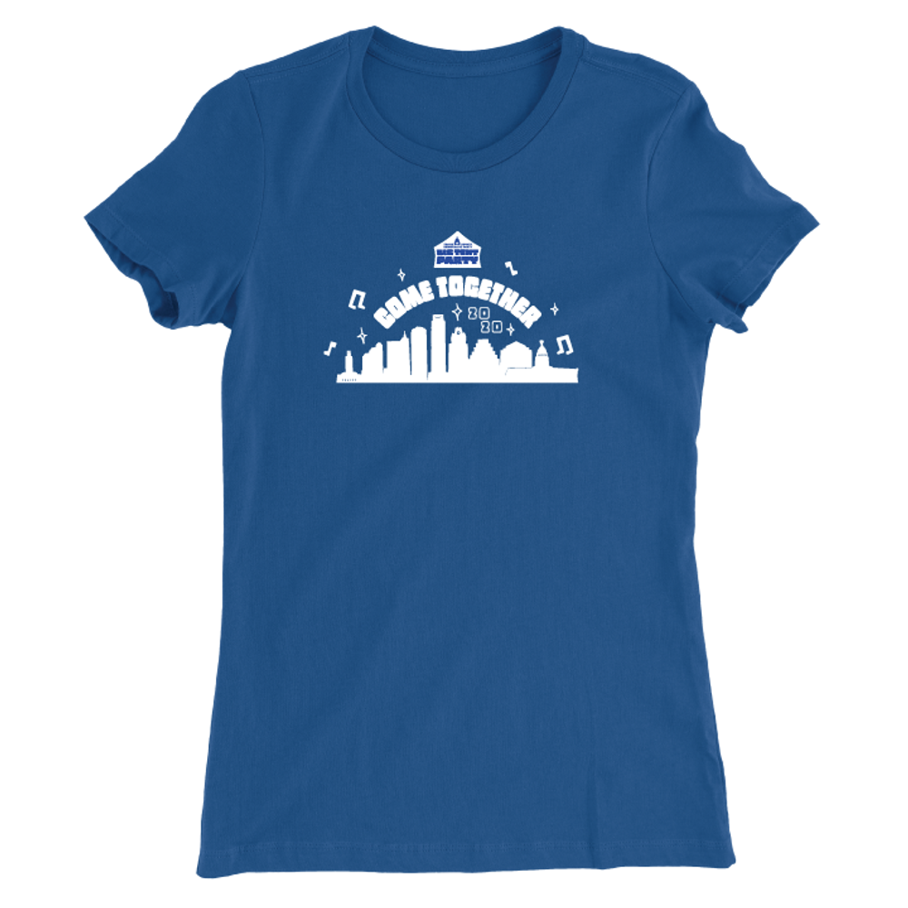 Big Tent Party (Women's Royal Blue Tee)