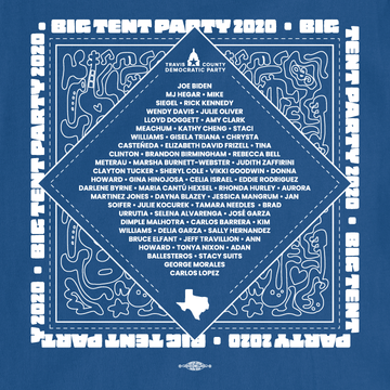 Big Tent Party (Unisex Royal Blue Tee)