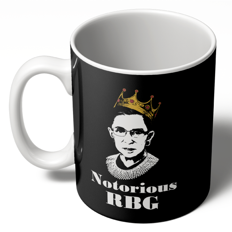 Notorious RBG - Black Colorway (11oz. Coffee Mug)