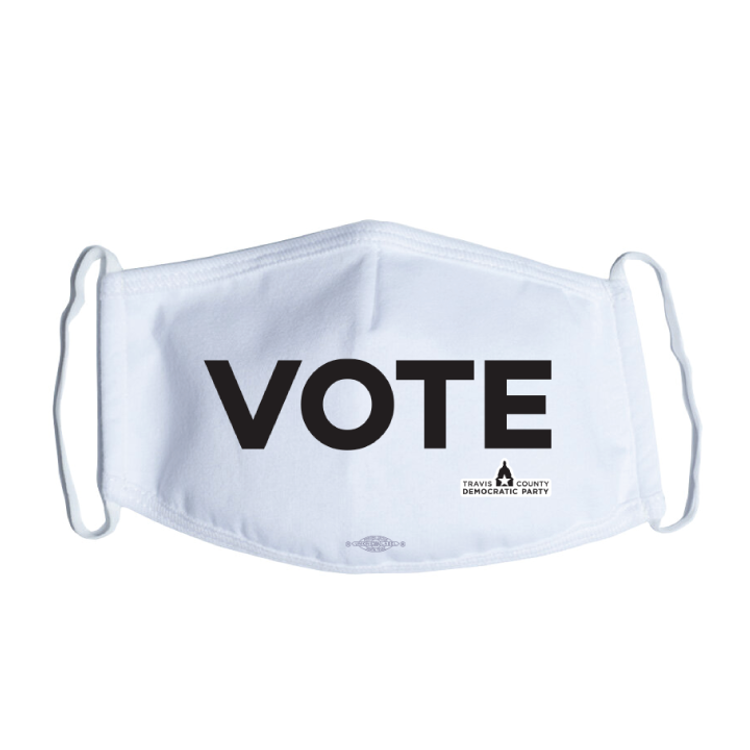 Vote (White Mask)