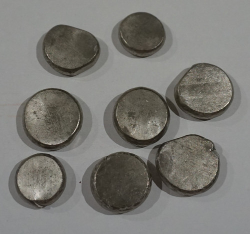 Nickel disks, 99.98% 100g for electroplating  FREE POSTAGE!