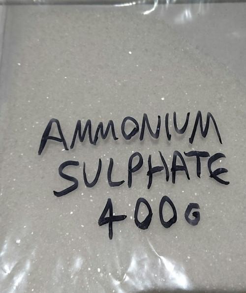 Ammonium Sulphate powder, 400 gram bag. Free shipping!