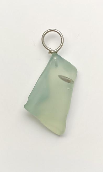Bluish aqua Glass Pendant