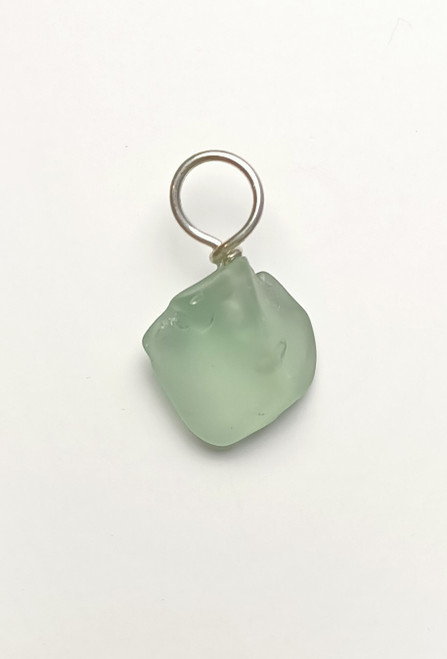 Aqua Green, Glass Pendant.