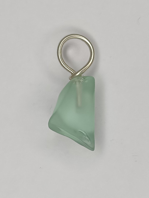 Aqua Glass 'Point' Pendant.