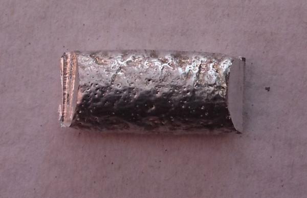 Cadmium metal 10 gram sample.  Element 48  FREE POSTAGE