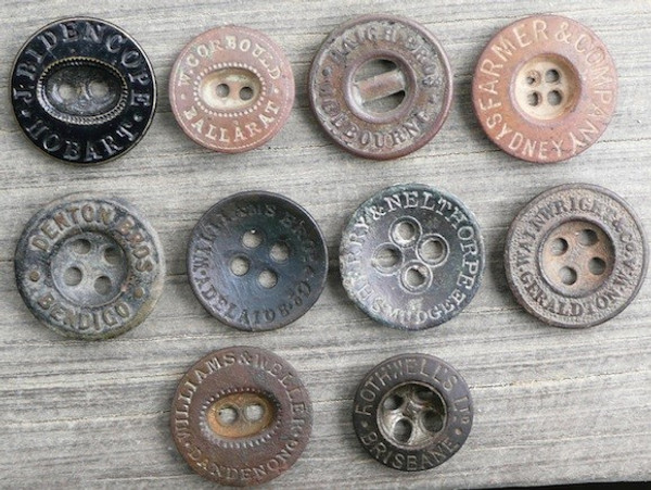 Australian Tailors Buttons (eBook)