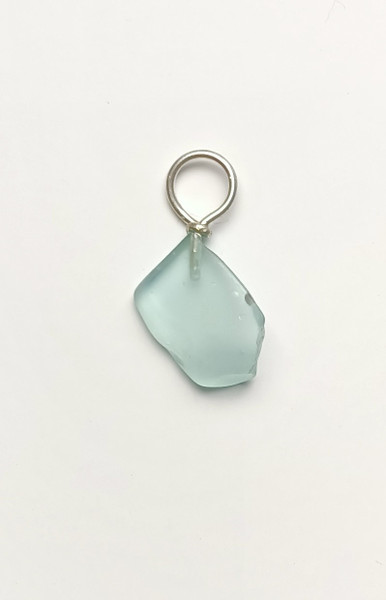 Light Ice Blue, Glass Pendant