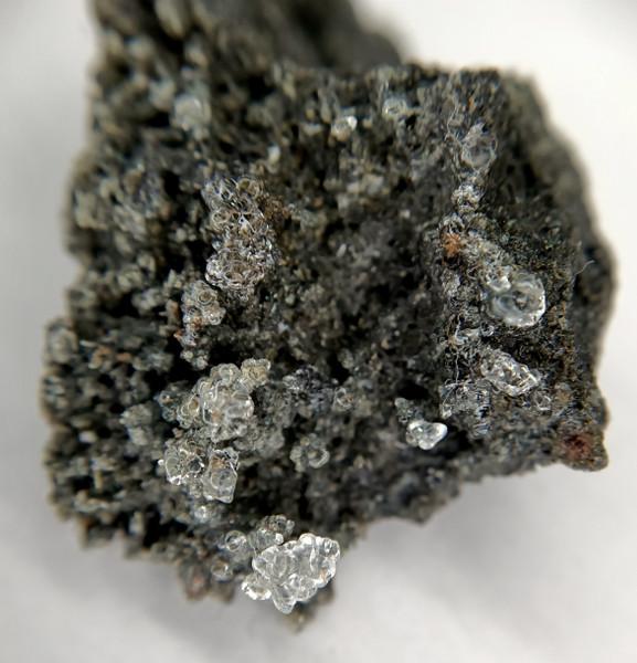 Hyalite Opal-AN  on Basalt, Ballarat Victoria Australia   20052