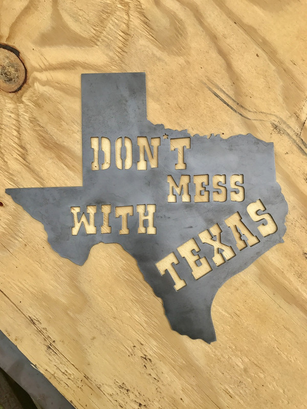 """14"""" DONT MESS WITH TEXAS"""