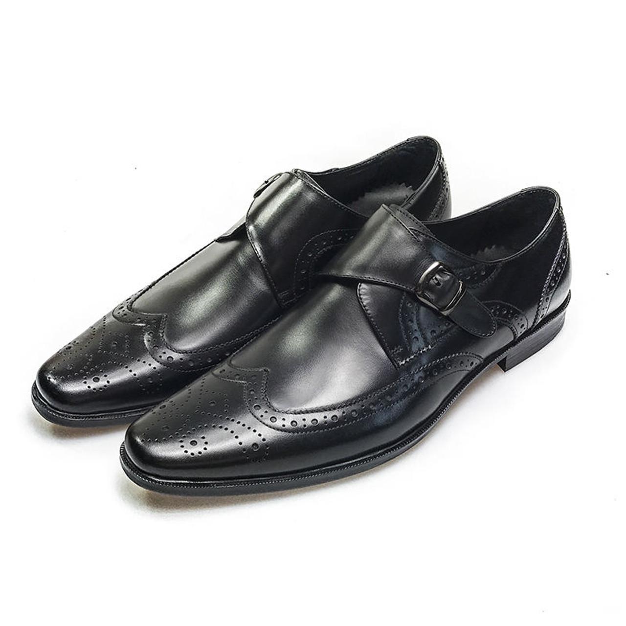 Trendy Men's Side Buckle Shoes Online