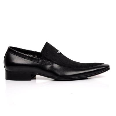 Black dress shoes for men