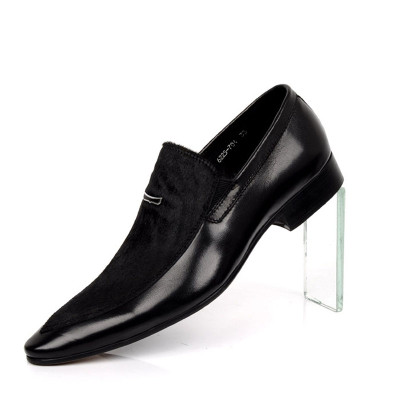 Men dress shoes with horse hair