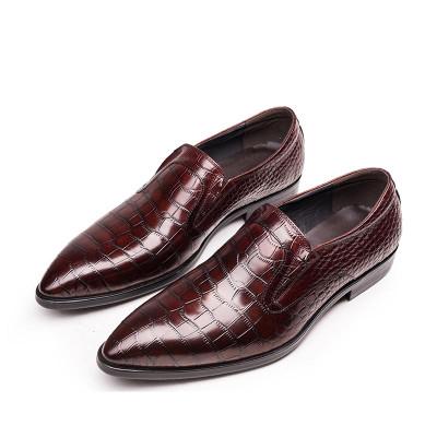 Slip on men's dress shoes