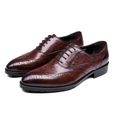 Grimentin Mens Italian Oxford Shoes Cow Leather