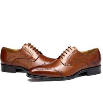 Best custom mens shoes brown