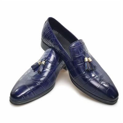 Mens blue dress shoes for sale