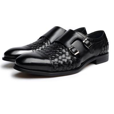 Monk strap shoes for men